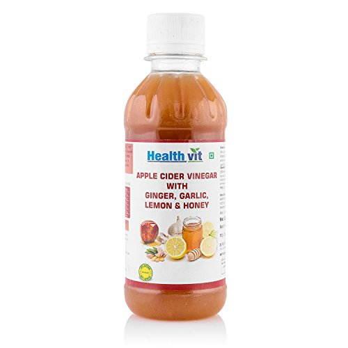 Healthvit Apple Cider Vinegar With Ginger, Garlic, Lemon and Honey (250ml)