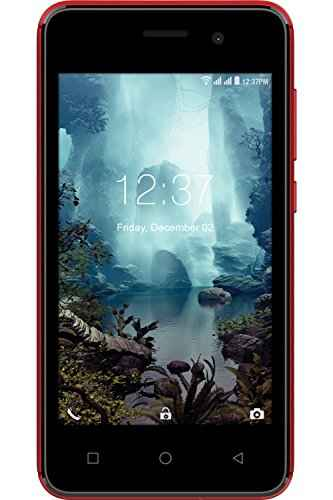 Intex Aqua 4G Mini 4GB Red Mobile