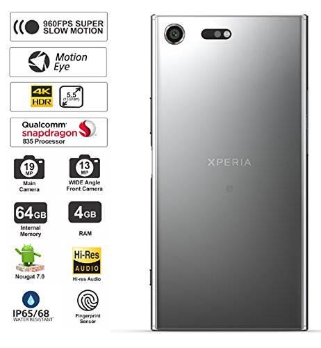 Sony Xperia XZ Premium Dual (Sony G8142) 64GB Luminous Chrome Mobile