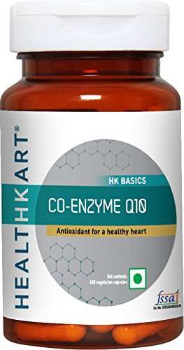 Healthkart Co-Enzyme Q10 Supplement (60 Capsules)