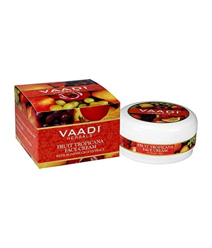 Vaadi Herbal Fruit Tropicana Honeysuckle Extract Face Cream (90gm)