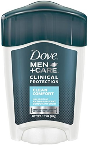 Dove Clinical Care Protection Clean Comfort Antiperspirant Deodorant For Men, 50 ml