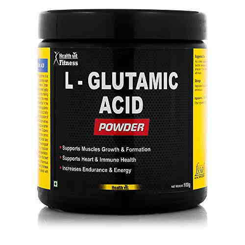 Healthvit L-Glutamic Acid Powder 0.23lbs