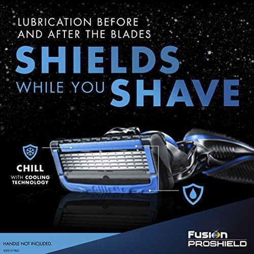 Gillette Fusion Proshield Chill Blade Refills, 8 Cartridges