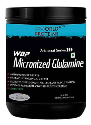 WOP Micronized Glutamine (300gm)