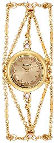 Sonata 8130YM02 Analog Watch