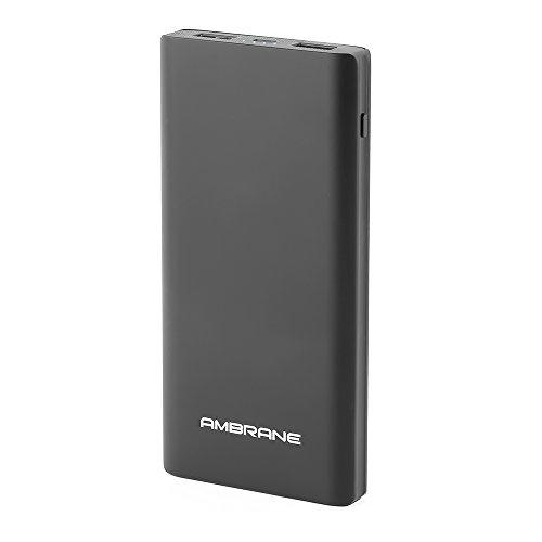 Ambrane Plush PP-1100 10000mAh Power Bank (Black)