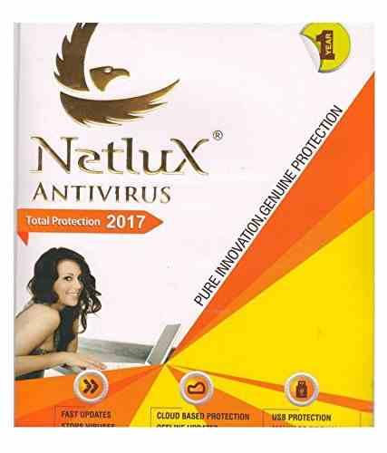 Netlux Total Security 2017 1 Year 1 PC Antivirus