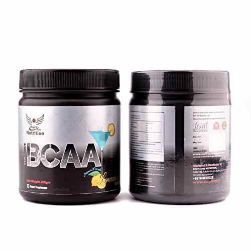Cozy Cure Nutrition BCAA Powder (300gm, Lemon)