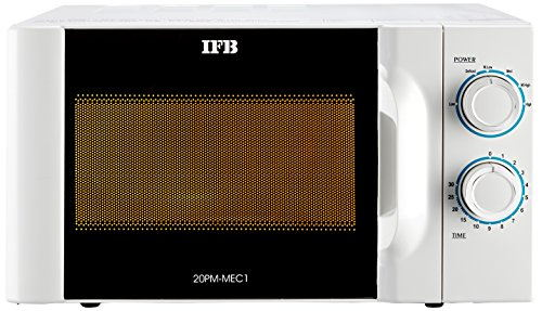IFB 20PM MEC1 20 Lts Solo Microwave Oven White