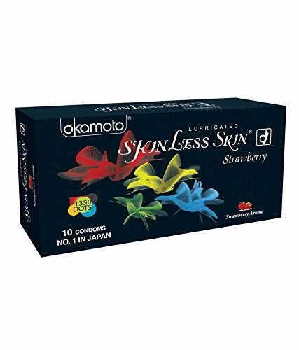 Okamoto Skinless Skin Strawberry Condoms (10 Condoms)