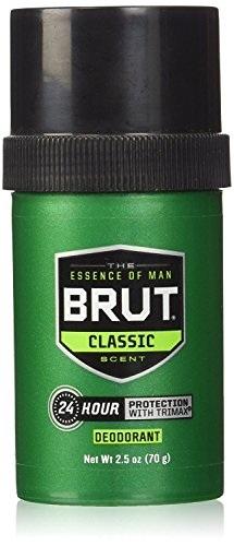 Brut Round Solid Deodorant For Men, 75 ml
