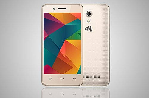 Micromax Bharat 2 Q402 4 GB Champagne Mobile