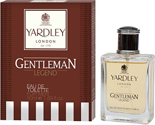 Yardley London Gentleman Legend Eau de Toilette For Men, 50 ML