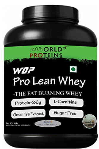 WOP Pro Lean Whey Protein (2.26Kg, Cookies and Cream)