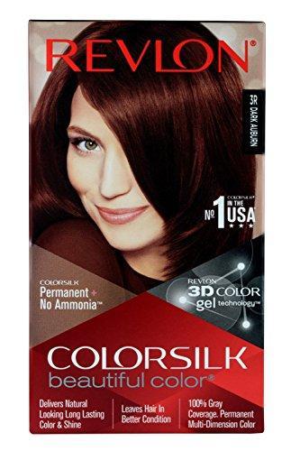 Revlon Colorsilk Unisex Beautiful Color, Dark Auburn
