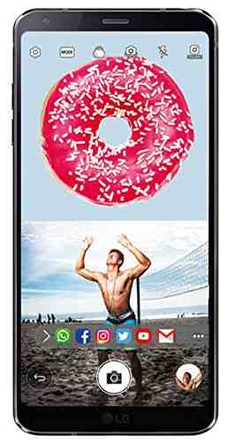 LG G6 LG (LG H870DS) 64GB Black Mobile