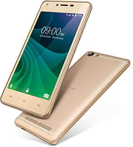 Lava A77 8GB Gold Mobile