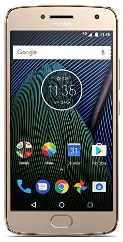Moto G5 Plus (Motorola XT1686) 32GB Gold Mobile