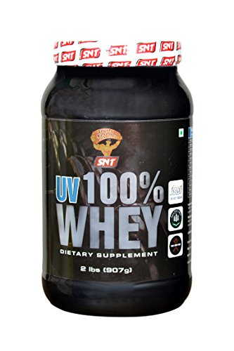 SNT UV 100 % Whey Protein Isolate (907gm, Chocolate)