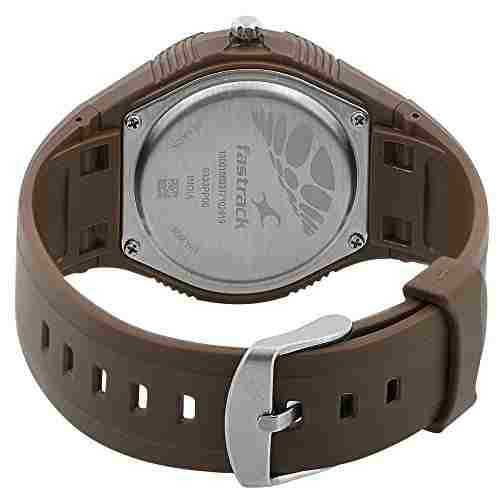 Fastrack 9333PP06J Analog Brown Dial Men's Watch (9333PP06J)