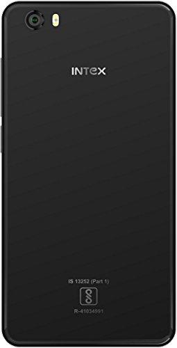 Intex Aqua Crystal Plus 16GB Black Mobile