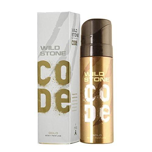 Wild Stone Code Gold Body Perfume, 120 ML