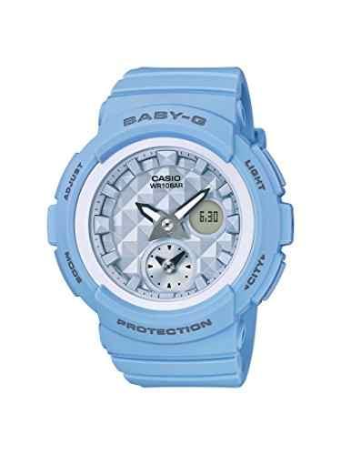 Casio Baby-G BGA-190BE-2ADR (BX080) Analog-Digital Blue Dial Women's Watch