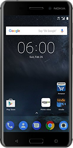 Nokia 6 32GB Matte Black Mobile