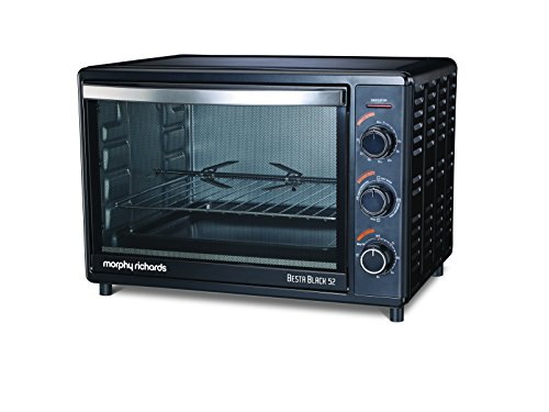 Morphy Richards OTG Besta 52 Lts Oven Toaster Grill Black
