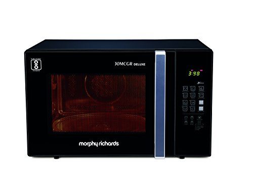 Morphy Richards 30MCGR Deluxe 30 Lts Microwave Oven Black