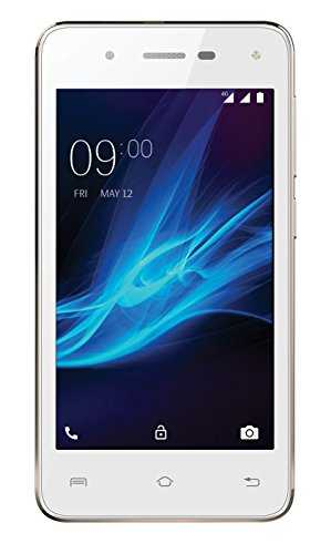 Lava A44 8GB White-Gold Mobile
