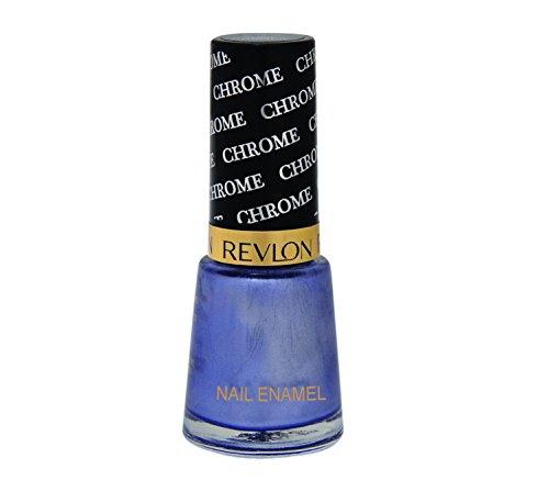Revlon Nail Enamel, 8 ML Aqua Chrome