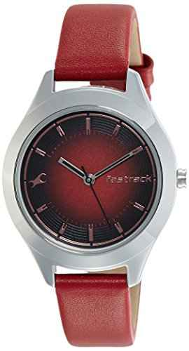 Fastrack 6153SL01 Analog Black Dial Women's Watch (6153SL01)