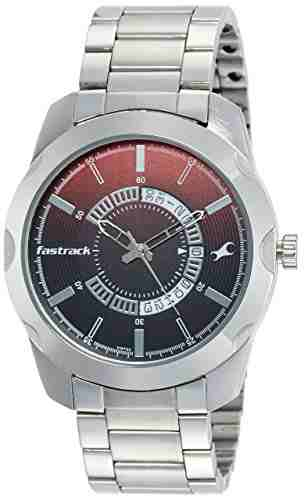 Fastrack 3123SM03 Analog Black Dial Men's Watch