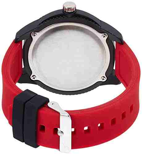 Fastrack 38019PP09J Analog Red Dial Men's Watch