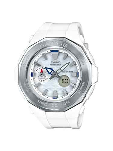 Casio Baby-G BGA-225-7ADR (B191) Analog-Digital Silver Dial Women's Watch (BGA-225-7ADR (B191))