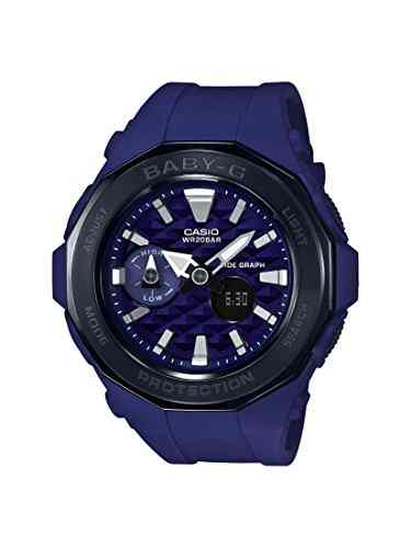 Casio Baby-G BGA-225G-2ADR (B194) Analog Digital Blue Dial Women's Watch (BGA-225G-2ADR (B194))
