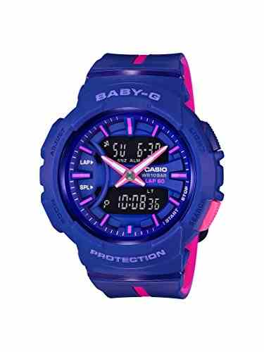 Casio Baby-G BGA-240L-2A1DR (B196) Analog Digital Blue Dial Women's Watch (BGA-240L-2A1DR (B196))