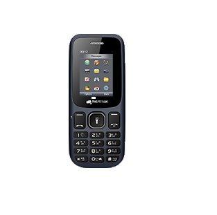 Micromax X512 Black Mobile