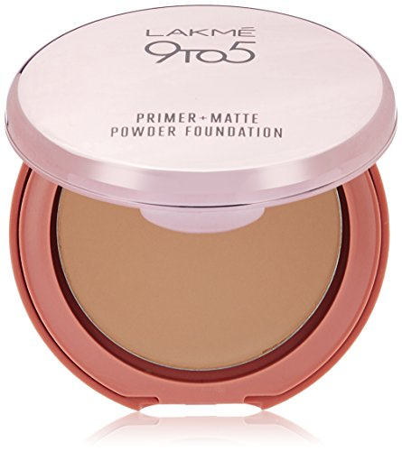 Lakme 9 To 5 Flawless Matte Complexion Compact, Melon