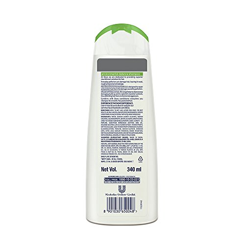 Dove Environmental Defence Shampoo 340ml