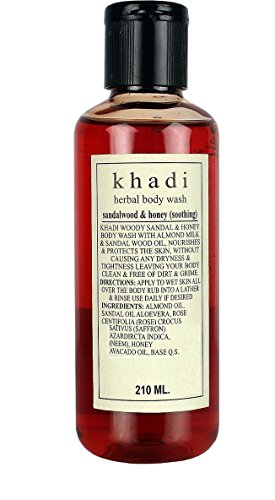 Khadi Sandalwood & Honey Soothing Body 210ml