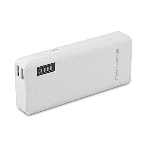 Ambrane P-1133 12500mAh Power Bank (White)