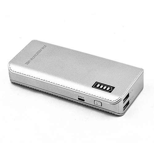 Ambrane P-1133 12500mAh Power Bank (Silver)