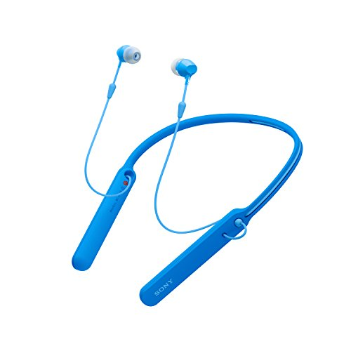 Sony MDR-EX150AP Stylish Earphones with Mic, Blue