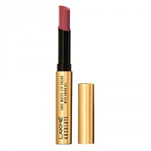 Lakme Absolute Luxe Matte With Argan Oil Lipstick, Mauve Silk 2 GM