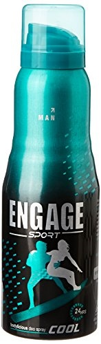 Engage Sport Cool Deo Spray For Men, 150 ml