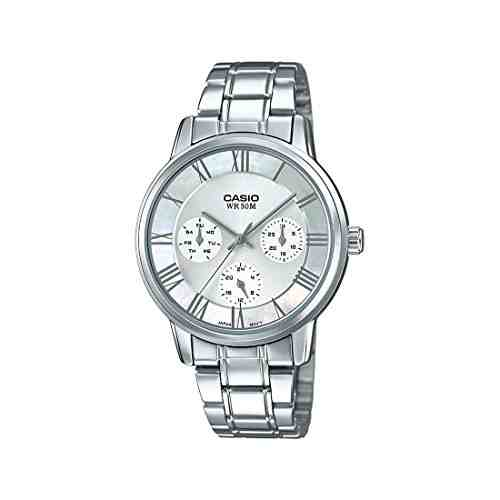 Casio Enticer A1245 (LTP-E315D-7AVDF) Analog Silver Dial Women's Watch