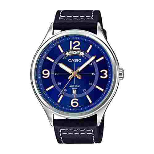Casio Enticer A1240 (MTP-E129L-2B1VDF) Analog Blue Dial Men's Watch